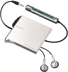 Sony Portable Minidisc Speler