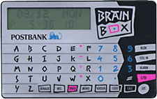 Brainbox van de Postbank