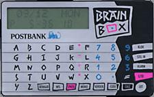 Brainbox van de Postbank