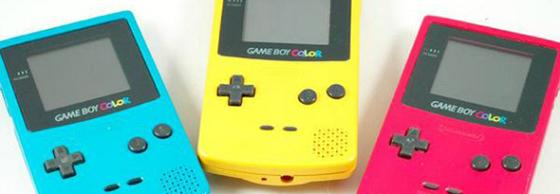 Gameboy Color speelgoed jaren 90