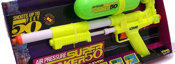 Super Soaker 50 jaren 90