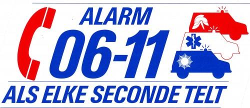 Alarmnummer 0611